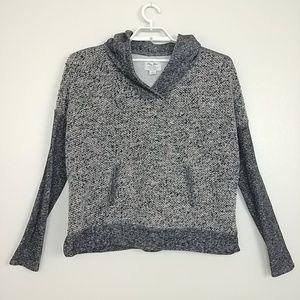 Lucky Lotus Hoodie Sweatshirt Metallic XL #3108